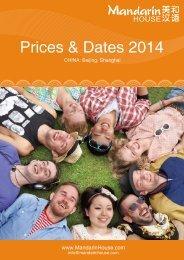 2014 General Price List (EUR) - Mandarin House