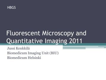 Light Microscopy - Biomedicum Imaging Unit (BIU)