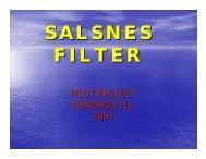 SALSNES FILTER Marengo - CSWEA
