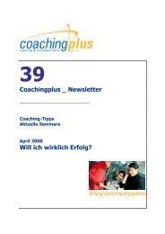 39 Erfolg - Coaching-Point