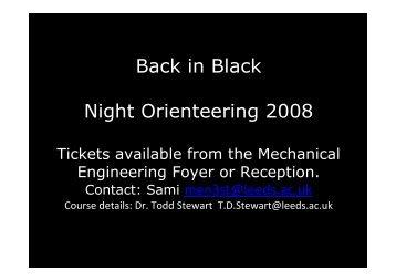 General Info - School of Mechanical Engineering