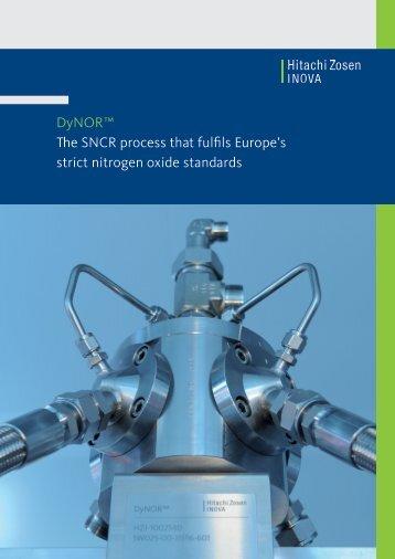 Dynor SNCR Process - Hitachi Zosen Inova AG