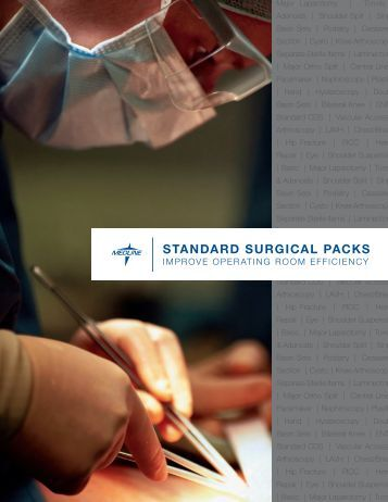 STANDARD SURGICAL PACKS - Safe Home Products
