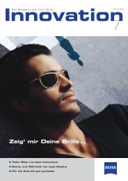 Zeig' mir Deine Brille … - Carl Zeiss - Carl Zeiss International