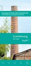Rundweg durch die alte Gemeinde Eich - Luxembourg City Tourist ...