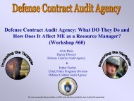 60. Defense Contract Audit Agency - PDI 2012