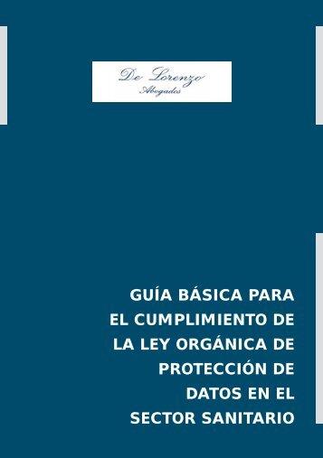 guía básica para el cumplimiento de la ley orgánica de protección ...