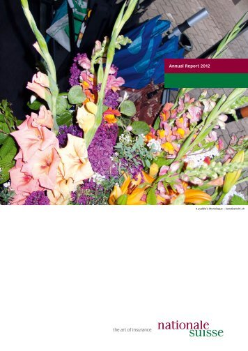 Annual Report 2012 - Nationale Suisse Group