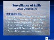 Surveillance of Spills