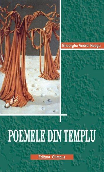 Poemele din templu - Oglinda literara