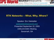 RTK Networks – What, Why, Where? - GPS.gov