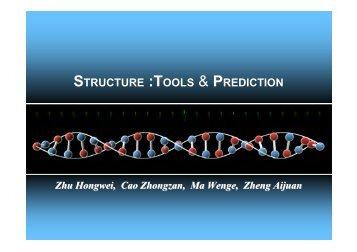 STRUCTURE :TOOLS & PREDICTION - abc