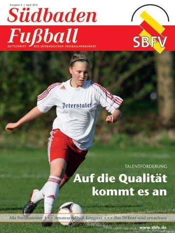 Ausgabe 2 | April 2012 - SBFV