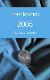 Fondspara 2005_050104.indd - Folksam