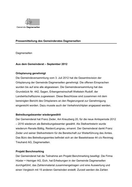 Gemeinderatsnachrichten-September-2012 - Gemeinde ...