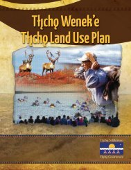 Tlicho Land Use Plan - Mackenzie Valley Land and Water Board