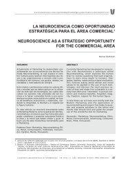 La Neurociencia como oportunidad estratégica para el Área ...