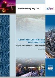 61_SEISDoc_Appendix M Greenhouse Gas Emissions Report