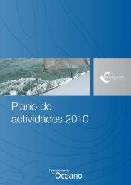 plano anual de actividades 2010 - Instituto Hidrográfico