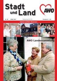 AWO Landessammlung - Betreuungsvereine