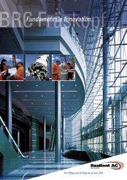 Fundamentale Innovation. - BauRent AG Central