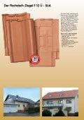 Flachdach-Ziegel F 12 Ü - Süd - Thorwesten-Baustoffe - Seite 2