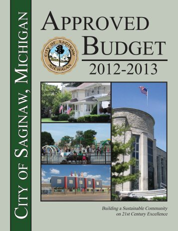 2012-2013 Budget - City of Saginaw MI