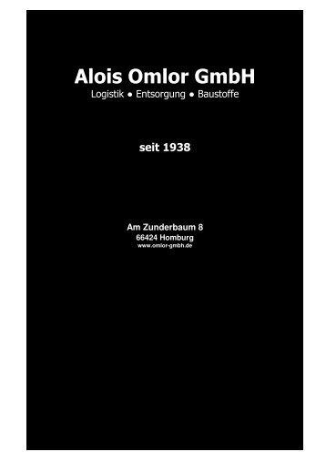 Am Zunderbaum 8 - Alois Omlor GmbH