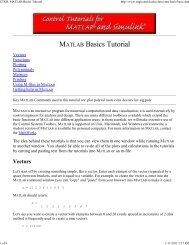 CTMS: MATLAB Basics Tutorial - Blog at UNY dot AC dot ID