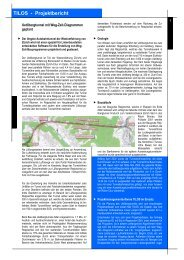 TILOS - Projektbericht - Linear project