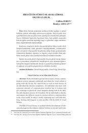 4. bir eğitim süreci olarak görsel okur yazarlık