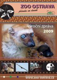 výroční zpráva 2009 ( 4,12 MB ) - Zoo Ostrava