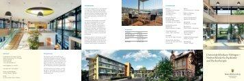 Universitätsklinikum Tübingen – Neubau Klinik für ... - VBA Tübingen