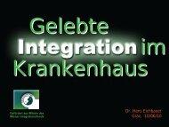 Dr. Hans Eichbauer Graz, 10/06/10 - LSF Graz