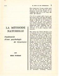 LA MÉTHODE NATURELLE - Icem