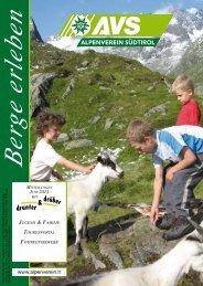 JUGEND & FAMILIE - Alpenverein Südtirol