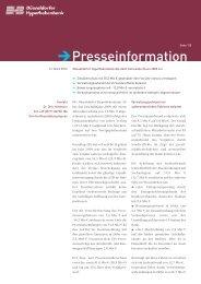 ePresseinformation - Düsseldorfer Hypothekenbank AG