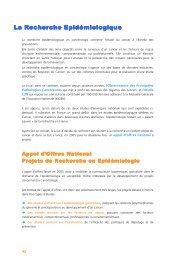 L'épidémiologie - Ligue-cancer83.net