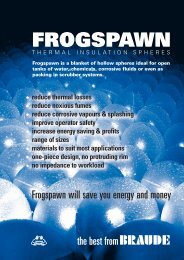 Frogspawn Thermal Insulation Spheres