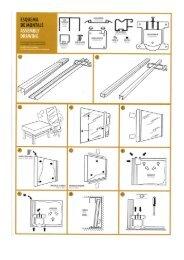 Instrucciones de montaje y corte