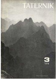 Taternik 3 1979 - Polski Związek Alpinizmu