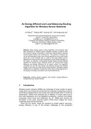 An Energy Efficient and Load Balancing Routing Algorithm for ...