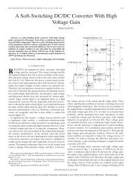 A Soft-Switching DC/DC Converter With High Voltage Gain