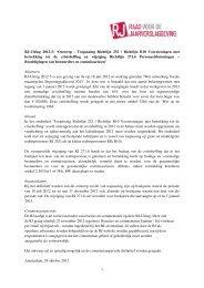 1 RJ-Uiting 2012-5: 'Ontwerp - Toepassing Richtlijn 252 / Richtlijn ...