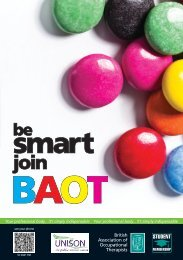 Be Smart Join BAOT - College of Occupational Therapists