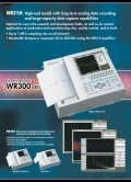 WR300 SERIES - Graphtec - Page 2