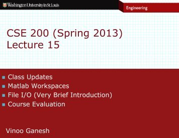 CSE 200 (Spring 2013) Lecture 15