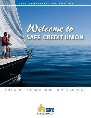 SAFE Membership Information - SAFE Credit Union