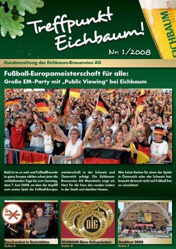 Große EM-Party mit - Eichbaum