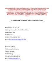 Skrivelse vedr. fordeling af kvalitetsfondsmidler - Velkommen til ...